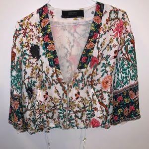 Zara kimono vest